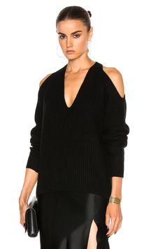 Nili Lotan Cashmere Celeste Sweater in Black