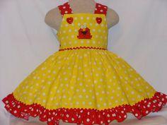 Dress, Girsl Elmo Dress, Sesame Street Elmo Dress, for girls of all ages…