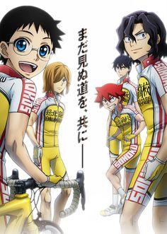 Yowamushi Pedal.