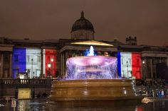 Trafalgar Square, à Londres