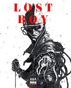 Ash Thorp on Behance Lost Boys, Steampunk, Cyberpunk Kunst, Ash Thorp, Matte Painting, Cool Sketches, Sci Fi Art, Art Reference, Illustrators