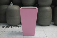 Soft-Pink color for Fiberglass planter with modern design. Isn't it sweet like a candy? 🍭🐷🐦🐢🌸 Visit our website with more and more products and information: www.potsandplanters.net #hoangpottery #vietnampottery #vietnam #vietnamese #pottery #fiberglass #fiberglassplanter #fiberglasspot #tallpot #fiberglassflowerpot #softpink #pink #pinkpot #pinkplanter #pinkflowerpot #moderndesign #modern #modernstyle #sweetstyle #sweetdesign #sweetpot #sweetflowerpot #sweetlikecandy #planter #flowerpot…