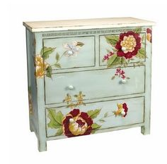 Buy the Sterling Industries undefined undefined Direct. Shop for the Sterling Industries undefined undefined Height Cabinet and save. Old Furniture, Hand Painted Furniture, Furniture Projects, Furniture Makeover, Modern Furniture, Distressed Furniture, Furniture Stores, Vintage Furniture, Whimsical Painted Furniture
