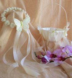 Butterfly Wedding Theme, Butterfly Flower Girl Halo and... | Shop | Kaboodle