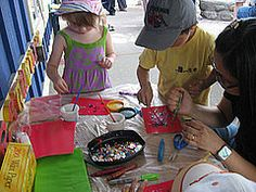 Preschoolers are innately creative, and giving them opportunities to make things with their hands and expand their imaginations is a great way to boost their development. Here are some innovative craft ideas suggested by Circle of Moms members. All of