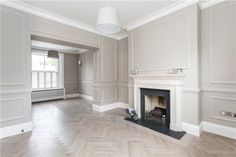 Terraced house for sale - 3 bedrooms in Castelnau, Barnes, London My Living Room, Interior Design Living Room, Home And Living, Living Room Designs, Living Room Decor, Ideas Decoracion Salon, Victorian Living Room, Classic Interior, Suites