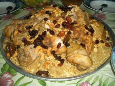 Saudi: Kabsa Recipe | Traditional Food dish.