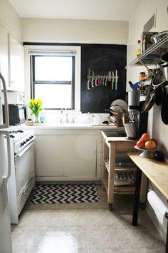 Alex and Alina's Shoebox Kitchen — Kitchen Spotlight