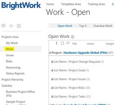 sharepoint project tracking template.html