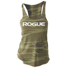 Rogue Basic Women's Tank - Camo