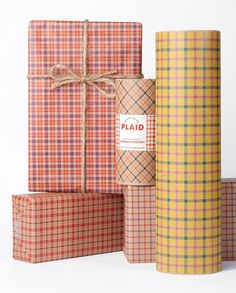 Hey, I found this really awesome Etsy listing at http://www.etsy.com/listing/151746334/plaid-gift-wrap-package-12-sheets