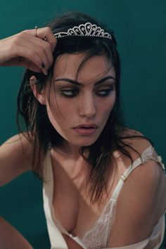 "phoebe tonkin by adrian mesko for oyster #104 in ""if i was your girlfriend""."