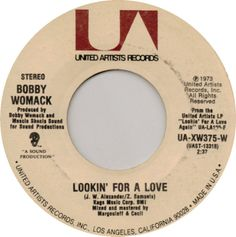 "Bobby Womack - ""Lookin' For A Love"""