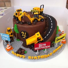 Constraction cake
