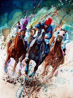 Horse Paintings And Prints By Hanne Lore Koehler
