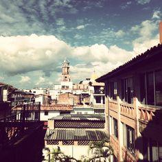 Parroquia de Nuestra Señora de Guadalupe desde #HotelCatedral #PuertoVallarta.