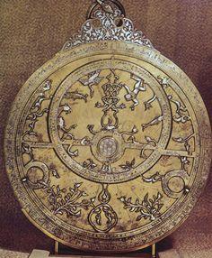 Planispherical astrolabe (Cairo, 1236)