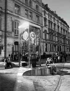 Pierhead Clock, St Mary Street, Cardiff. By Duncan Harris, via Flickr.
