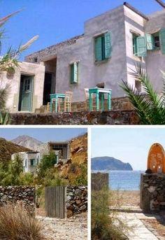 casa en la isla de serifos