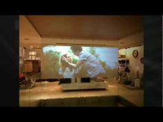 A video showing a recent Rear Film Projection installation for FCUK store in London