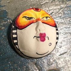 clay doll faces jewelry cabochons