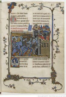Un classique de la bibliophilie, les Chroniques: l'Histoire de saint Louis par Joinville, à retrouver sur le Blog du Bibliophile
