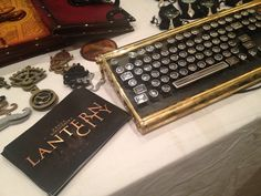 LANTERN CITY Steampunk props by Tom Willeford