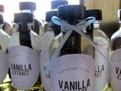 I must try to make this! Homemade vanilla extract recipe at Shrimp Salad Circus blogspot