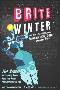 Brite Winter Festival - Cleveland, Ohio - February 15th, 2014 #OhioCity 4-11PM