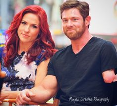 Sharna Burgess and Noah Galloway