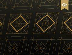 """Popatrz na ten projekt w @Behance: """"Graphic patterns"""" https://www.behance.net/gallery/35585089/Graphic-patterns"""