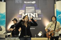 Kate Ceberano at Nicabate Mini Concerts Sydney