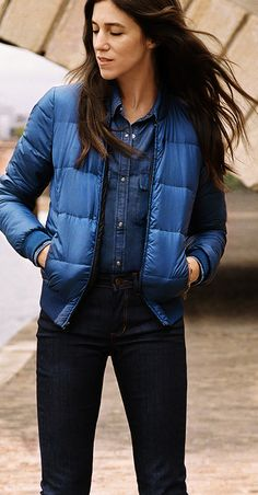 Le look Doudoune Comptoir des Cotonniers porté par Charlotte Gainsbourg