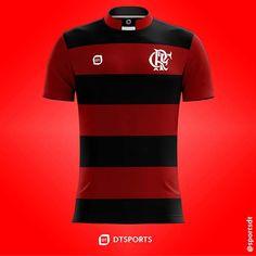 Camisa do Clube de Regatas do Flamengo do Rio de Janeiro-RJ