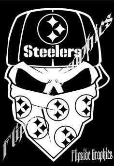 Pittsburgh Steelers DieCut Vinyl Decal Steelers Decor - Custom vinyl decals pittsburgh
