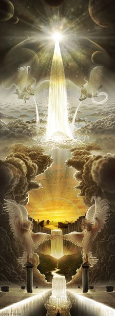 Revelation of God Bible (NOG) A New Jerusalem 9 One of the seven. - Nuran Tortu - - Revelation of God Bible (NOG) A New Jerusalem 9 One of the seven. Braut Christi, Fantasy Art Angels, Prophetic Art, Biblical Art, Living Water, Jesus Pictures, Mystique, Fantasy Kunst, Wow Art