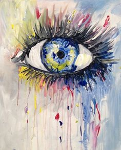 Paint Nite - Big Girls Don't Cry