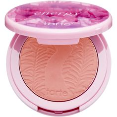 tarte Amazonian Clay 12 Hour Skintuitive Blush - Energy ($28) ❤ liked on Polyvore featuring beauty products, makeup, cheek makeup, blush, mineral blush, tarte blush ve tarte