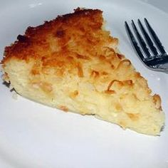 Impossible Coconut Pie I Allrecipes.com