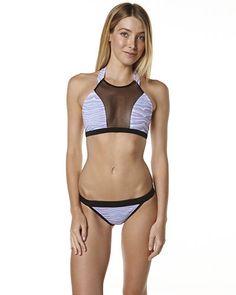 SKYE AND STAGHORN ECLIPSE CROP BIKINI - ZEBRA Bikinis, Swimwear, Clothes, Fashion, Outfit, Moda, Fashion Styles, Kleding, Bikini Swimsuit
