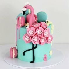 Que coisa mais fofa!!! Bolo Flamingos by @sandyscakes #bolosdecorados #decoratedcakes #sugarart #flamingo #flamingocake #stunningcakes…