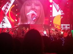 Taylor Swift in Concert  Sometimes owning entertainment corporate booking agency has benefits.  http://thegrablegroup.com