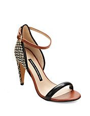Nanette Woven Leather Sandals