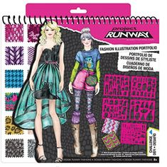 Project Runway Fashion Angels Runway Portfolio - Christmas & Birthday Gifts Ideas for Girls Project Runway, Tween Girls, Diy For Girls, Gifts For Girls, Tween Fashion, Runway Fashion, Fashion Trends, Fashion Sites, Fashion 2016