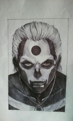 My drawing of Hidan from naruto shippuden IG: weirdcraft_ Naruto Shippuden Anime, Naruto Art, Itachi, Anime Naruto, Boruto, Anime Guys, Manga Anime, Manga Drawing, Drawing Sketches