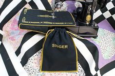 Singer Featherweight 221 or 222K Lift Table Sleeve Foot Pedal Bag Set | eBay