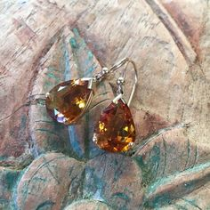 Citrine Teardrop Earrings in 9ct Gold | The Family Jewels Family Jewels, Teardrop Earrings, Earring Set, Jewellery, Gold, Crafts, Jewels, Manualidades, Schmuck