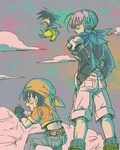 + Vanilla Sky + by TxPSupporter on DeviantArt Goku Images, Dragon Images, Dragon Ball Z, Dbz Pictures, Dragonball Art, Pokemon Fairy, Ssj3, Kids In Love, Vanilla Sky