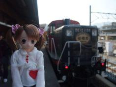 Sagano Romantic Train; Kyoto, Japan