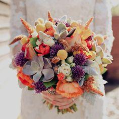 Purple, orange, yellow — Rustic Australian Wedding in Donnelly River: Rae + Shane